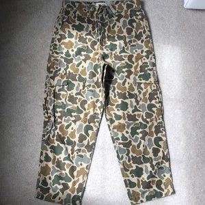 NWT Madewell Camo Cargo Boyfriend Pants